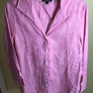 Brooks Brothers pink button Down pink shirt